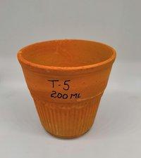 Terracotta glass T5