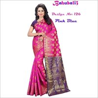 Bahubali 3 Silk Saree