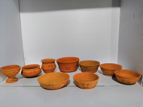 Terracotta bowls