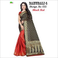 Bahubali 4 Silk Saree