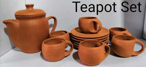 Clay tea pot set
