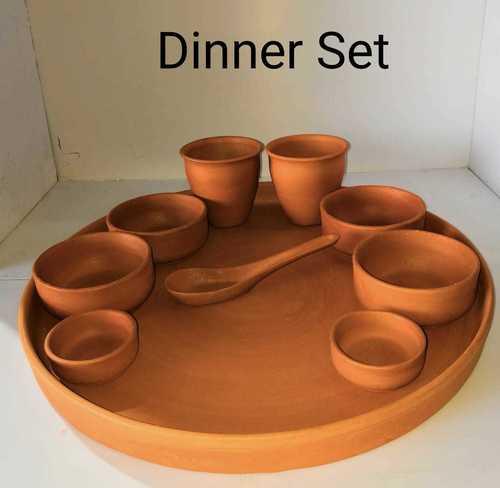 Terracotta dinner set