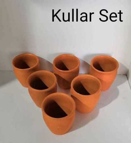 Terracotta kulhad set