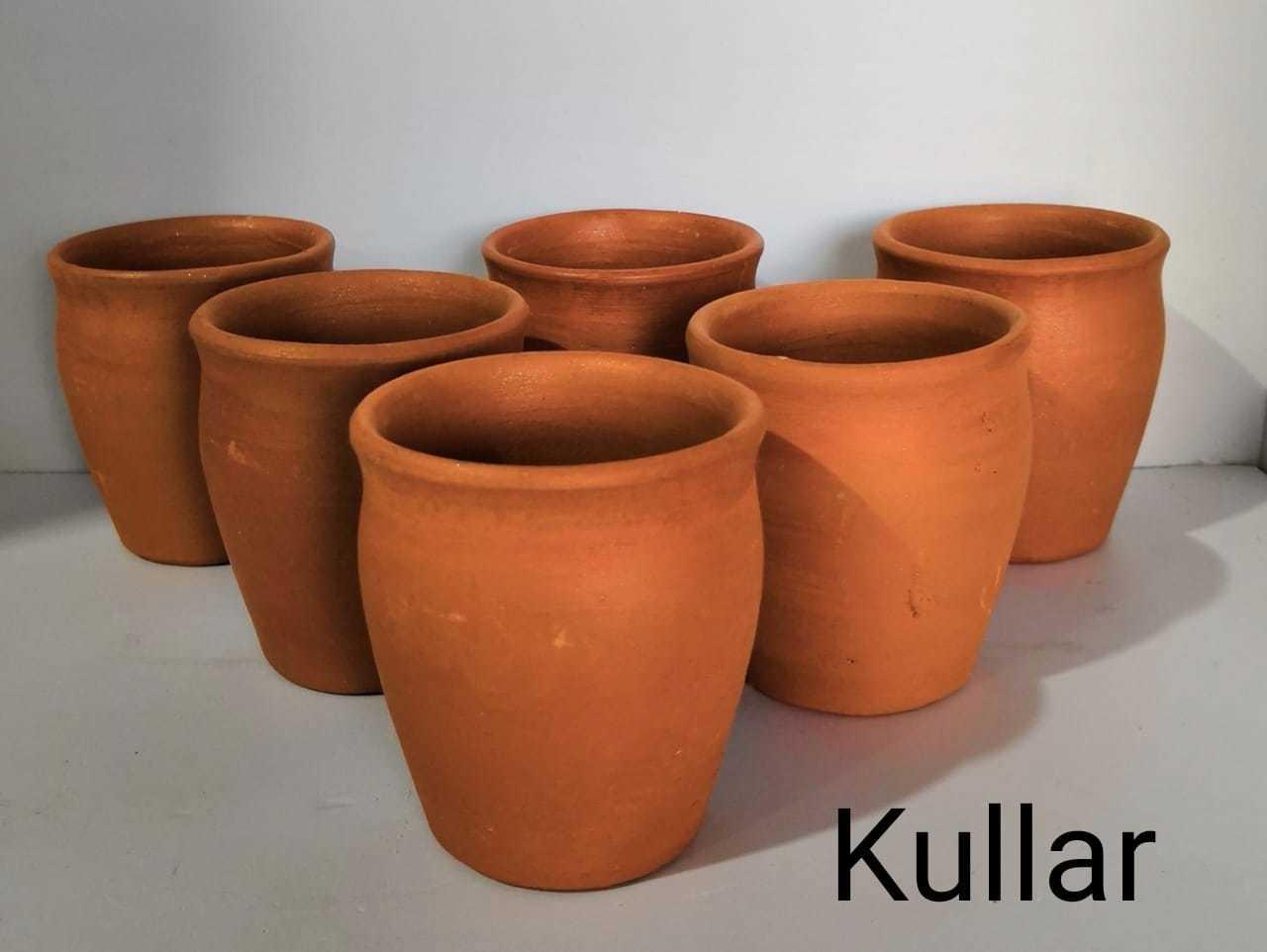 Terracotta kulhad set