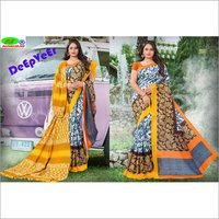 New Design Cotton Silk Saree