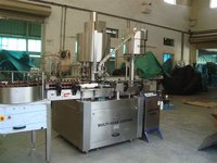 Six head Ropp cap sealing machine