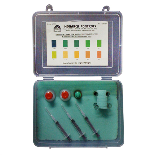 Transformer oil Acidity Test Kit