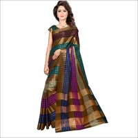 Diamond Jacquard silk saree