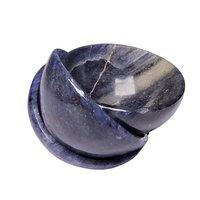 Satyamani Natural Blue Aventurine Healing Bowl