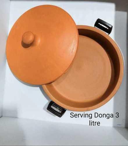 Terracotta casserole