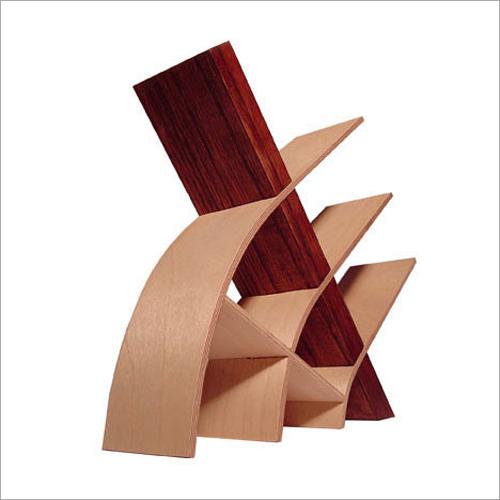 Bend Wood Book Rack