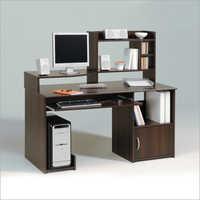 Brown Wooden Computer Desk