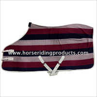 Fleece stripes Horse Rug