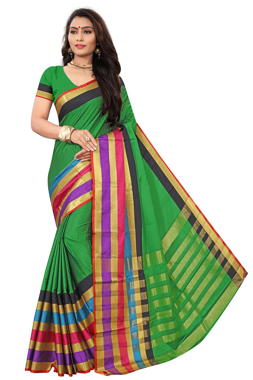 Ganga Cotton Silk saree
