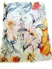 High Quality Konica Digital Print Scarves