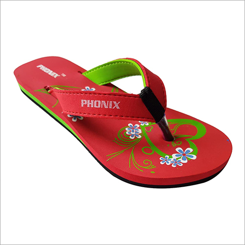 Ladies Designer Print Slipper