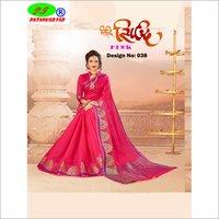 Resam Cotton Silk Saree