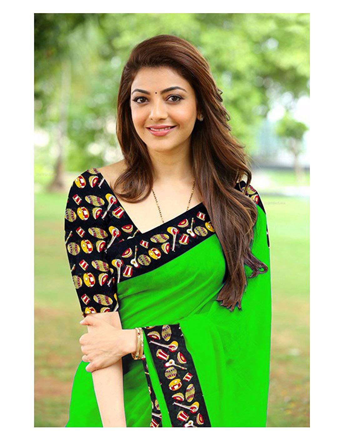 Plain Chanderi Cotton Saree