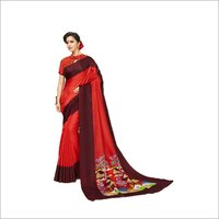 Lichi Work Printed saree