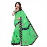 New Design Chanderi Cotton Silk Saree