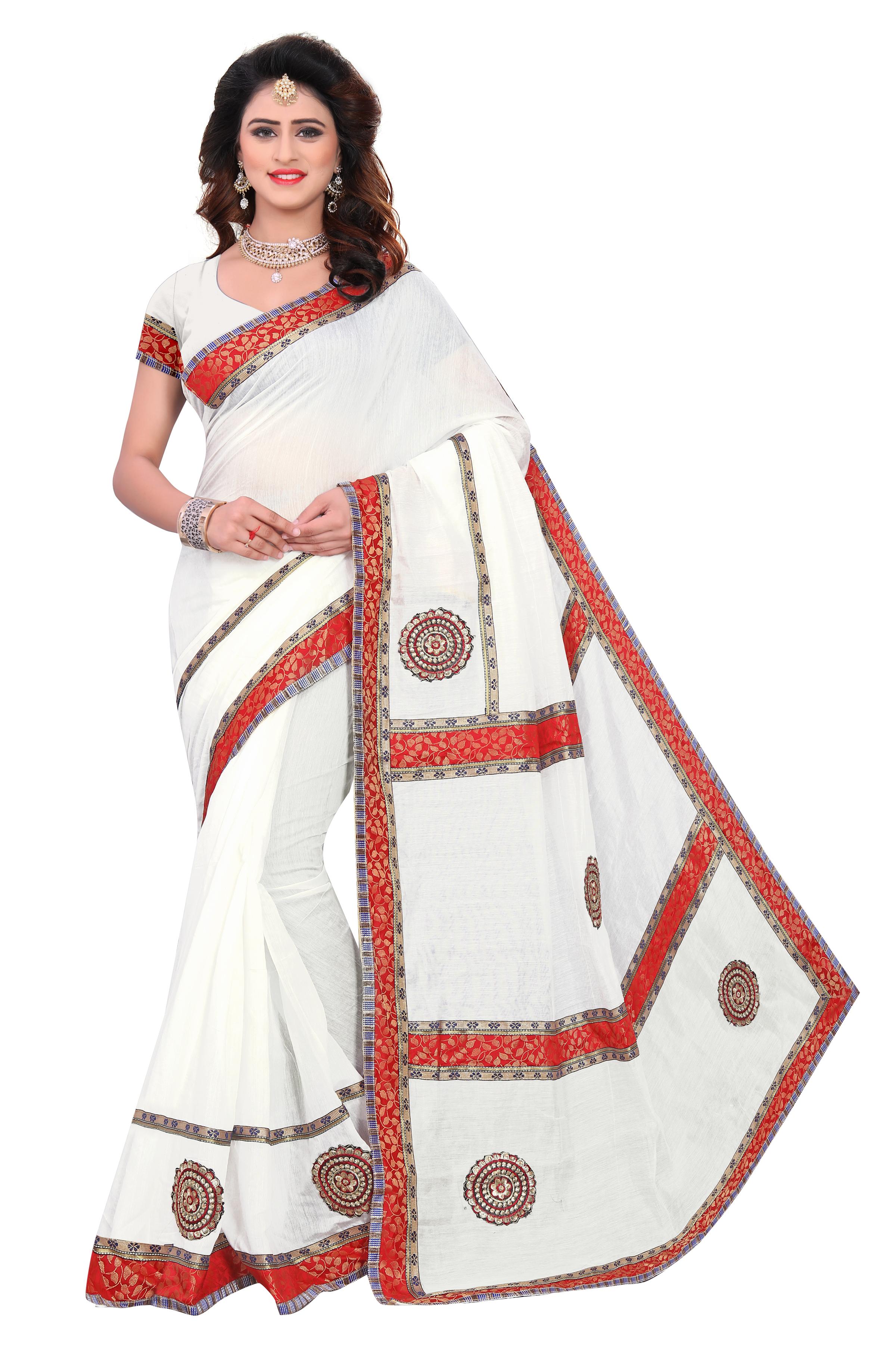 New Design Chanderi Cotton Silk Saree