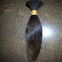 Human Braiding Hair Bulk Weft