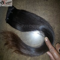 Wavy Human Hair Extension Machine Weft Straight