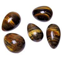Satyamani Natural Energised Tiger Eye Egg