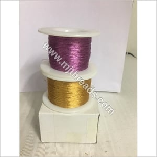 Imitation colored Zari Thread
