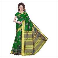 New Printed Foil saree