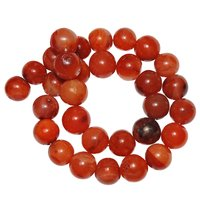 Satyamani Natural Energised Carnelian 12 mm. Beads