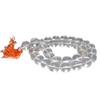 Satyamani Natural Energised Clear Quartz 12 mm Beads