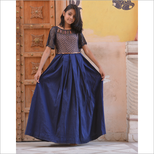 Girl Designer Long Dress