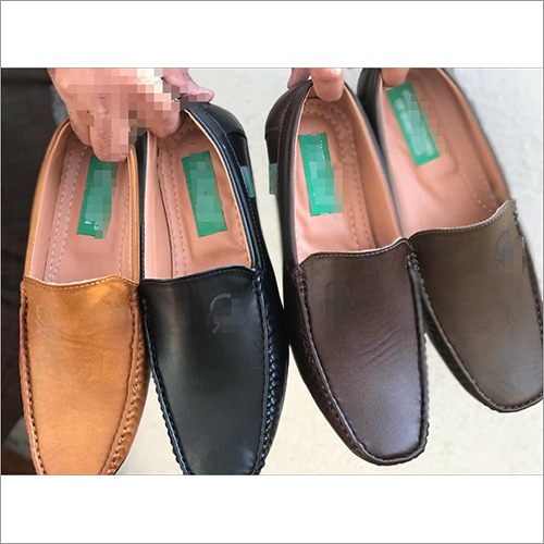 Mens Branded Leather Loafer