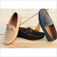 Mens Branded Suede Leather Loafers
