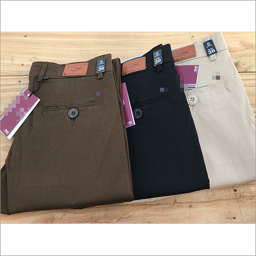 Mens Branded Cotton Chinos