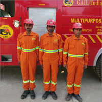 Fire Fighting Vehicle With Fire Manpower Service