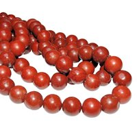 Satyamani Natural Energised Red Jasper 12 mm Beads