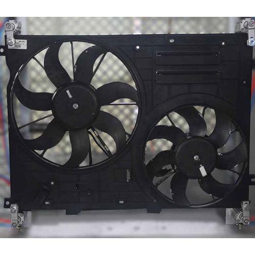 Car Engine Cooling Fan, Car Radiator Fan Dual Fan Automotic Balancing Machine