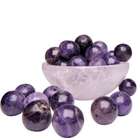 Satyamani Natural Energised Amethyst 12 mm Beads