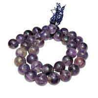Satyamani Natural Energised Amethyst 12 mm Beads
