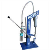 Manual Volumetric Bottle Filling Machine