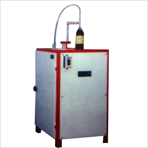 MS Semi Auto Bottle Filling Machine