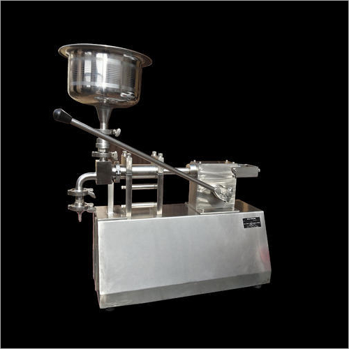 SS Manual Bottle Filling Machine