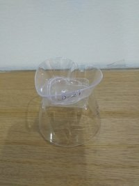 Heart Shaped  Plastic Cup