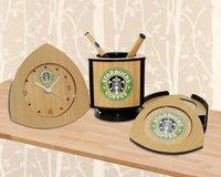 3pcs Desk Set - Starbucks