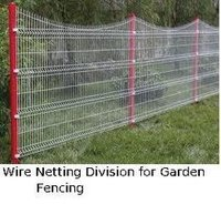Wire Netting Division For Garden Fencing