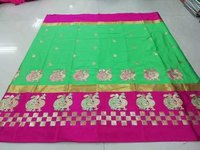 New Embroidery Silk Saree