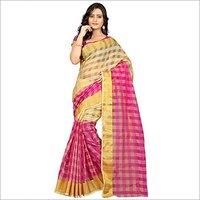New Printed Cotton Silk Saree