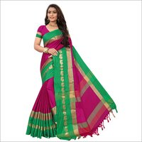 Damini Peacock Silk Saree